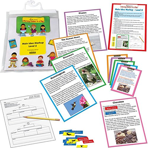 Really Good Stuff Main Idea Markup Reading Comprehension Game Grades 4-5 by Really Good Stuff
