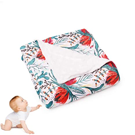 Bamboo Fiber Blanket Swaddle Toddler Bath Towel Sleeping Quilt Cot Baby New