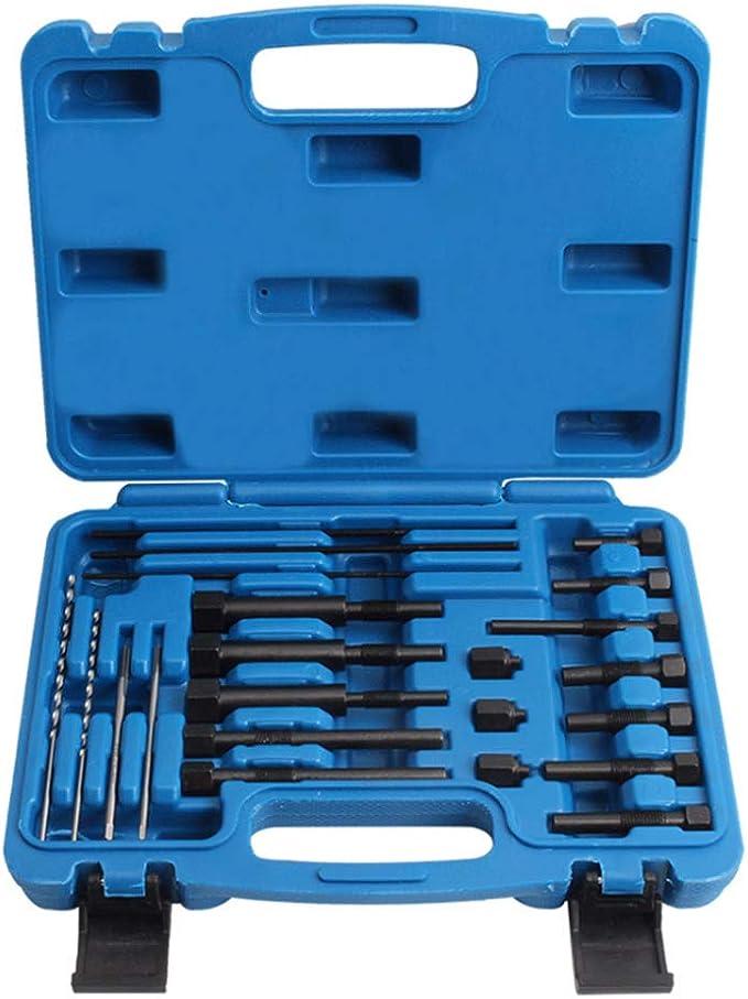 Kkmoon Glühkerzen Werkzeug Glühkerzen Demontage Ausbohr Werkzeug Set Glühstift Ausbau Von Abgebrochenen Elektroden Baumarkt