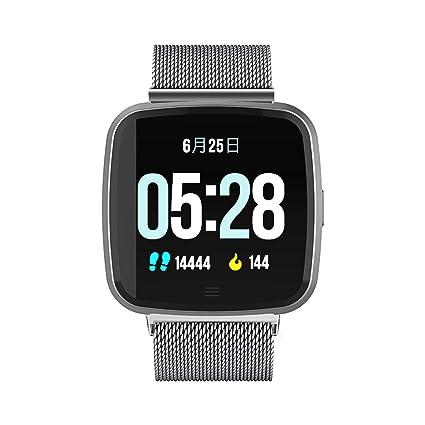 Amazon.com: DTNO.I Reloj inteligente deportivo cuadrado ...