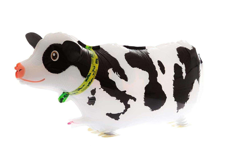 Vaca Animal Caminar Fiesta Globo Globos De Papel Aluminio: Amazon ...