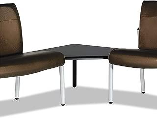 product image for La-Z-Boy 93287 Gratzi Reception Series Corner Ganging Table, 30w x 30d x 16-1/2h, Black