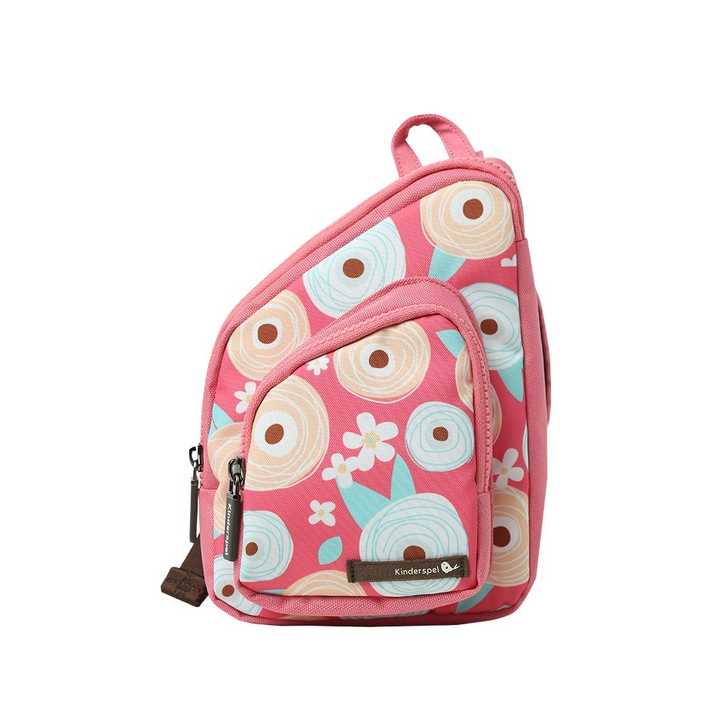 Kinderspel All - in - One幼児バックパック/スリングバッグ/クロスボディ/ Insulated Lunchバッグ B06XPH17WV Confetti Flower