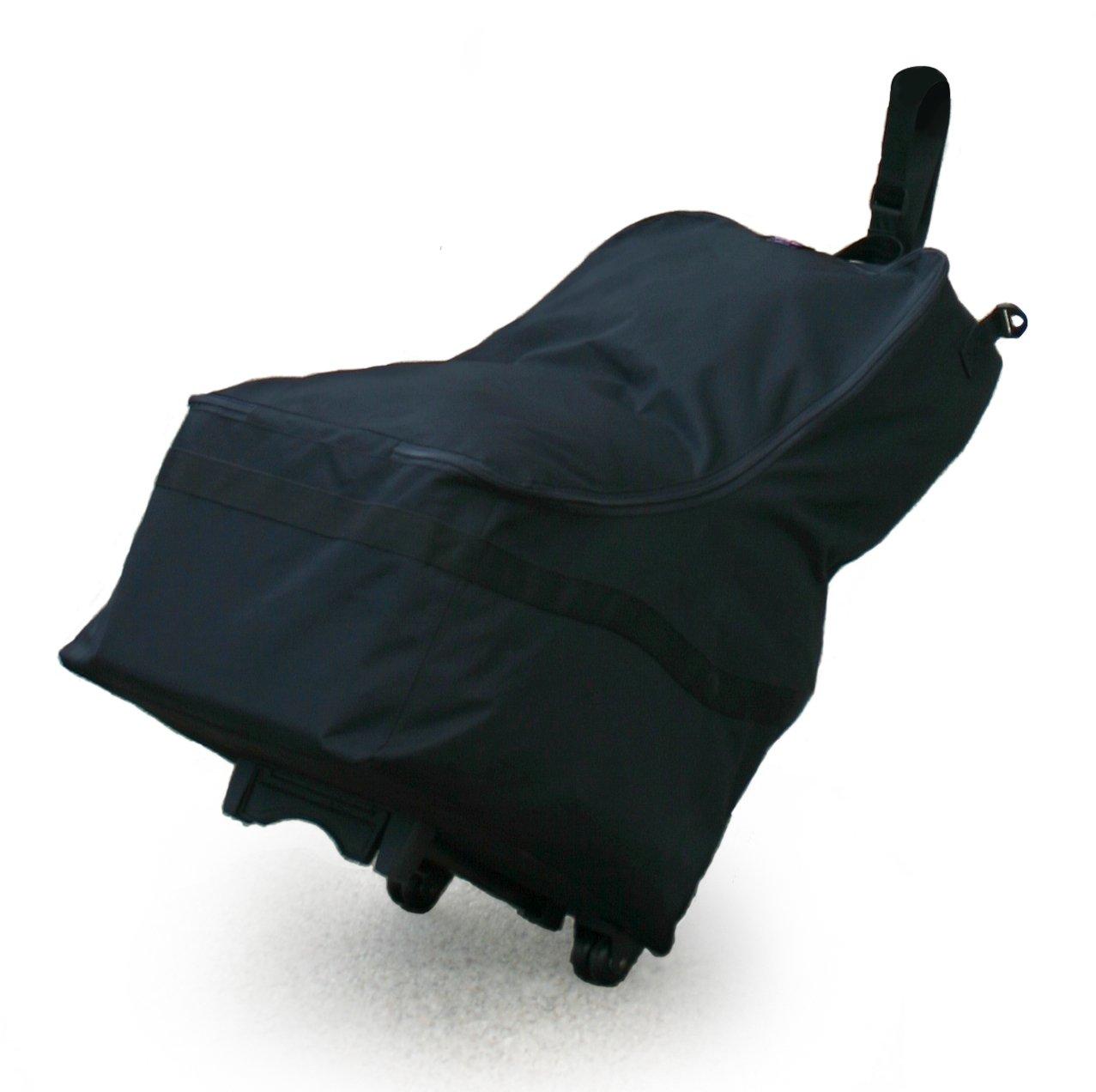 JL Childress Wheelie Car Seat Travel Bag Black Amazoncouk Baby