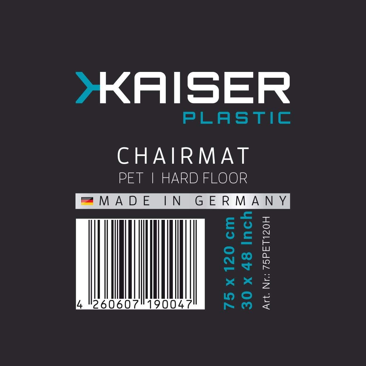 90 x 120 cm Ecologico Pet Kaiser Tappeto Protettivo salvapavimento Made-in-Germany per Pavimento in Moquette