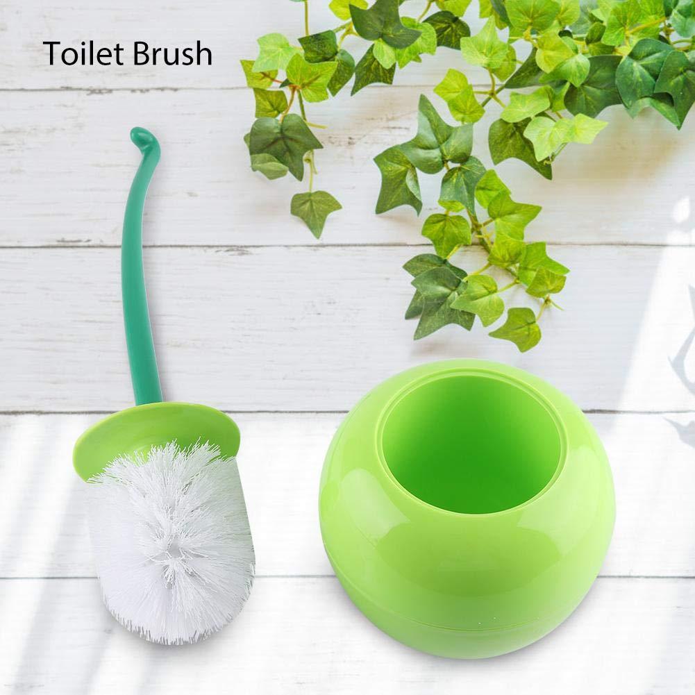 # 1 Zyyini Cepillo para Inodoro Creativo en Forma de Cereza Cepillo para Inodoro para lavamanos y Juego de Soportes para ba/ño Nuevo