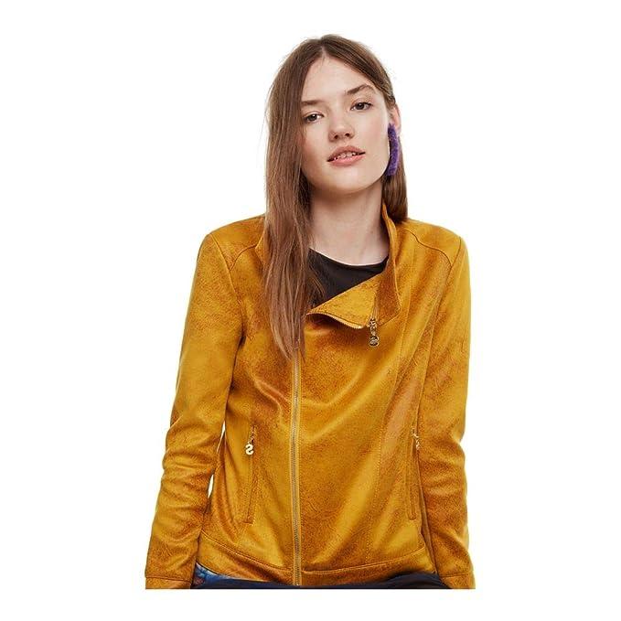 Desigual - Cazadora Merlin Mujer Color: 8063 Talla: Size 38 ...