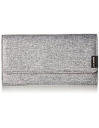 Pacsafe RFIDsafe LX200 Anti-Theft RFID Blocking Clutch Wallet, Tweed Grey