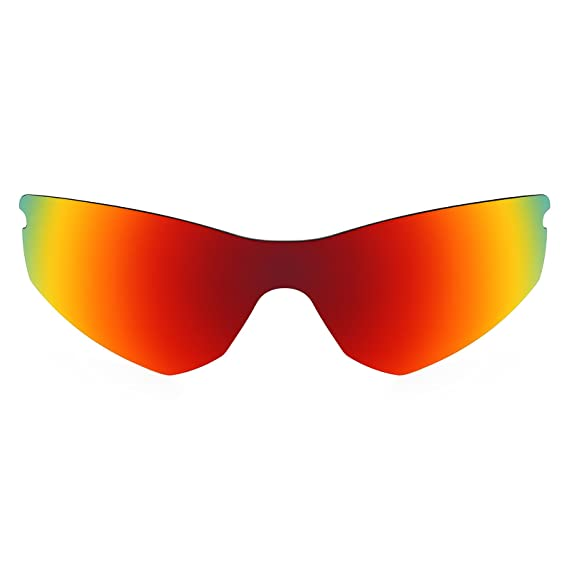 d85ad415cd Revant Polarized Replacement Lens for Oakley Radar (Sprint) Fire Red  MirrorShield®