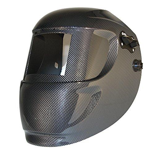 ArcOne 3-0110 Carrera Welding Helmet for 2000T, 1000F, 2500V, 4500V, 5000V, 5500V, 6000V, IDF48 Filters, Carbon Fiber
