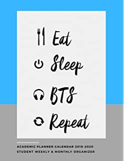 Amazon.com : BTS Planner - 2019 Planner to Increase ...