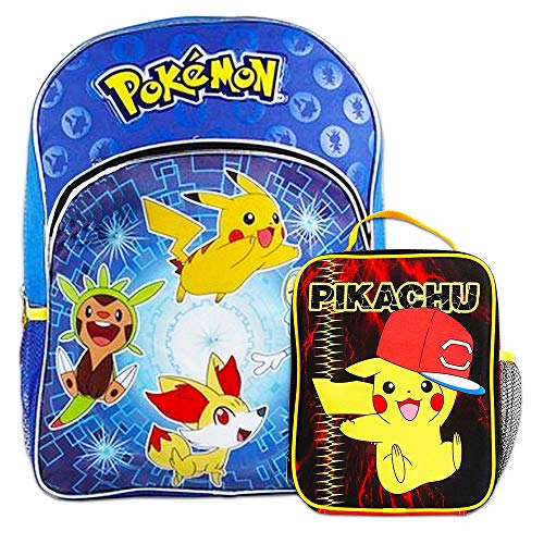Pokemon Backpack School Supplies Bundle with 16