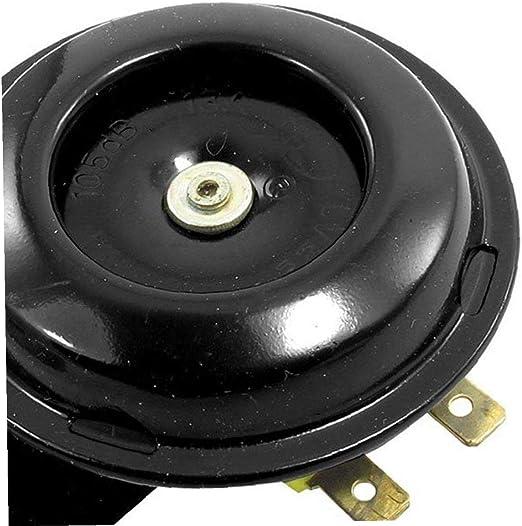 Altoparlanti Bluetooth Dc 12v 1.5a Corno Nero Metallo Elettrico Compound Horn Per Moto