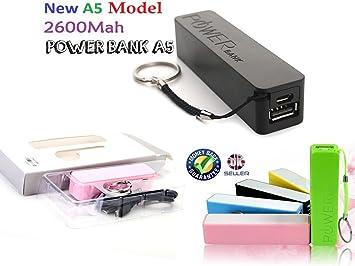 Rosa Cargador externo portátil de 2600Ah / Cargador de ...