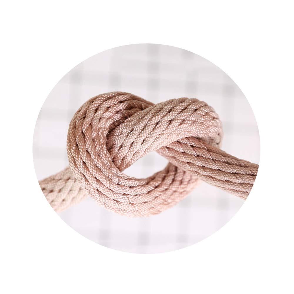 LIINA ロープ 屋外安全ロープ、変色14mm-10m / 30m / 50m / 80m / 100mの柔らかい引張強さの高い摩耗抵抗の酸およびアルカリの抵抗 (Size : 100m)  100m