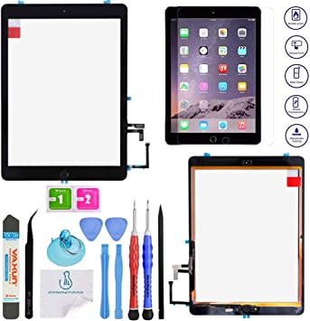 iPad 4 Digitize touch screen replacement with home button Black OEM quality