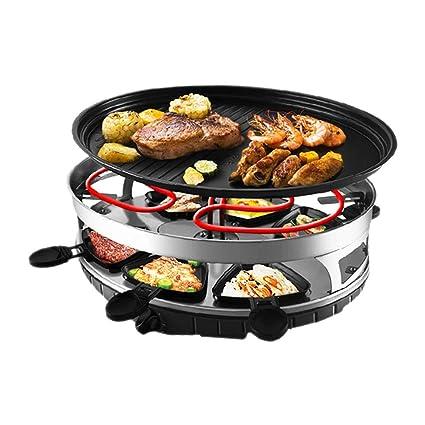 Raclette Grill Sin Humo en el Interior Parrilla eléctrica de ...