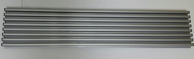 Micel 578Y21 - Rejilla Frigo-Horno 8 Elementos con acabados en gris inoxidable Desconocido 94512