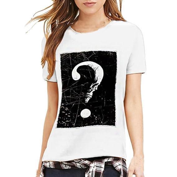 Amantes Camisetas para Hombre Impresión Camiseta tee Cuello Redondo Tops Camisetas De Manga Corta Tendencia Blusa