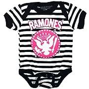 Kid's Sourpuss Clothing Ramones Pinned One Piece 12-18M