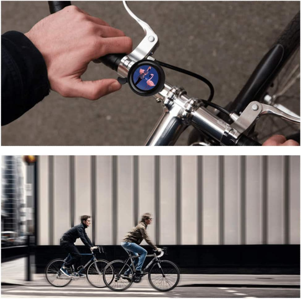 Whiterbunny Bike Bell Basketball Show Bicycle Bell Bike Ringer Bell for Kids and Adults Bike Ringer for Mountain Bike Road Loud Long Crisp Clear Sound Cycling Ringing Bike Horn