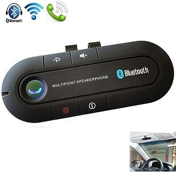 Manos Libres Bluetooth Coche Unidad Manos Libres Inalámbrico ...