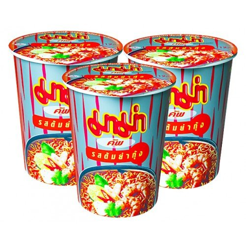 Mama Cup Tom Yum Shrimp Creamy 60g Pack (Shrimp Creamy)