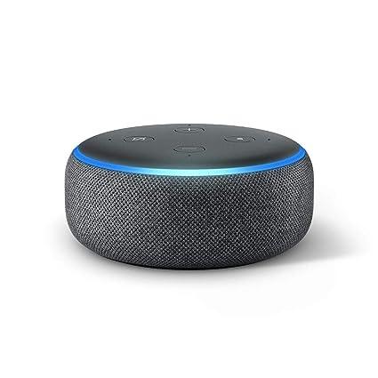 Altavoz inteligente Alexa Echo Dot de 3ª generación.