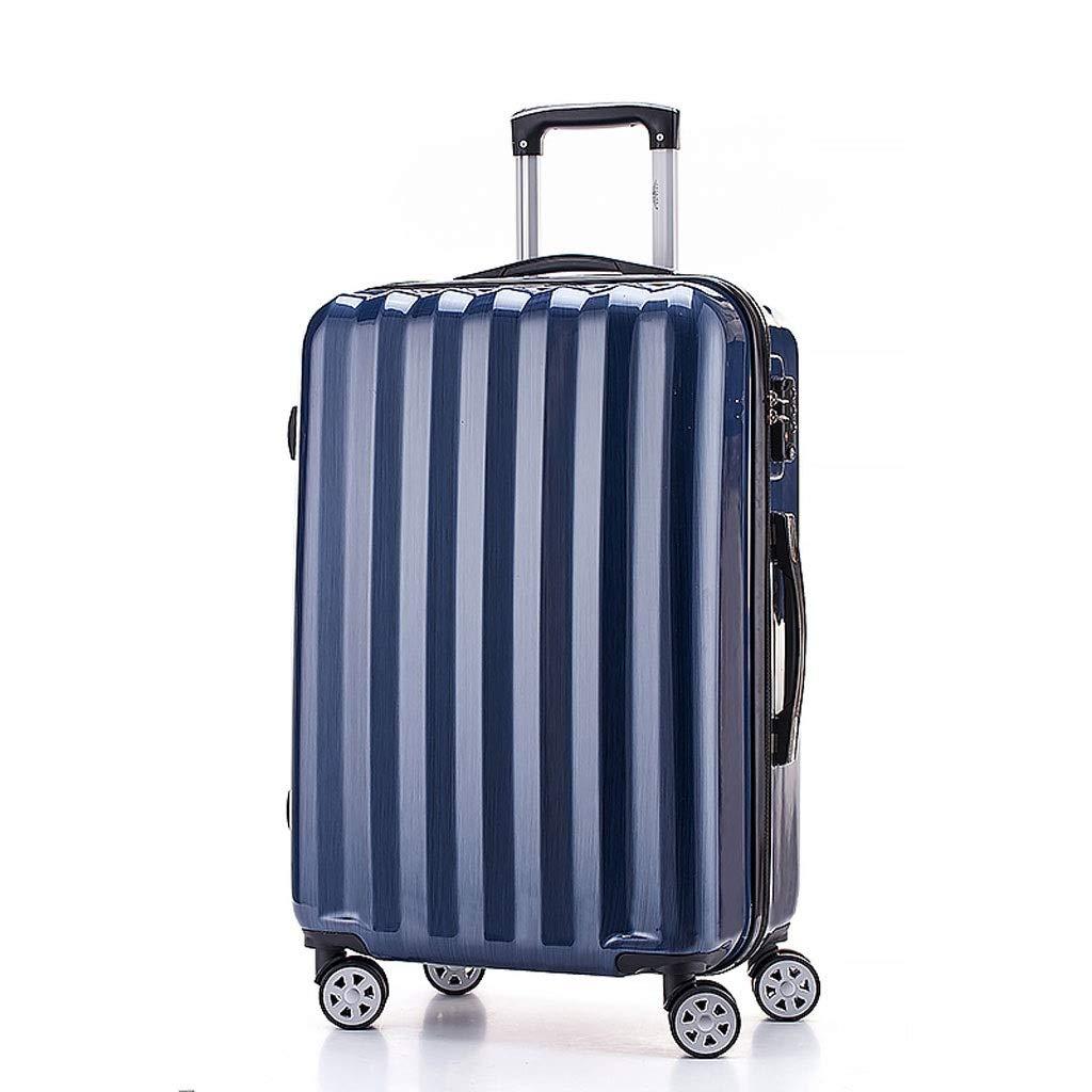 スーツケース トロリーケースライトスーツケースTSA税関パスワードロックセキュリティと心配シルバーオーロラブルーパープルオレンジ4色20(35 * 20 * 52) (色 : Aurora blue, サイズ さいず : 20(35*20*52)) B07RTLNVNC Aurora blue 20(35*20*52)