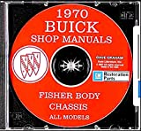 FULLY ILLUSTRATED 1970 BUICK REPAIR SHOP & SERVICE MANUAL & FISHER BODY MANUAL CD INCLUDES Special Deluxe, Skylark, Skylark Custom, Sportwagon, G.S. 350, G.S. 455, G.S. 455 Stage 1, GSX, LeSabre, LeSabre Custom, Wildcat, Wildcat Custom. 70