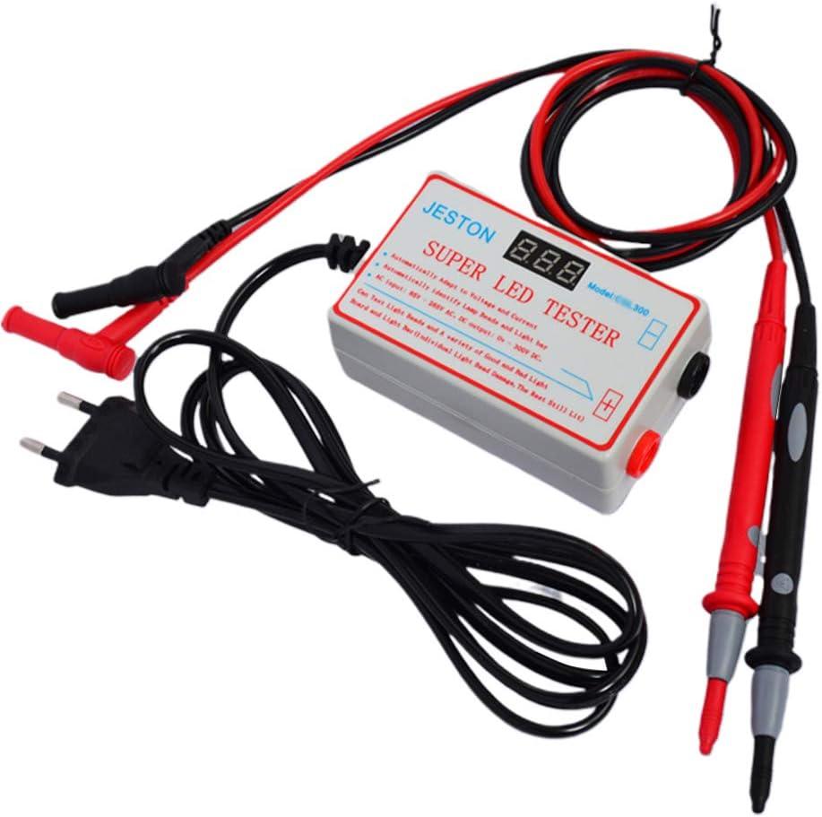 herramienta de computadora del probador de LED que se adapta autom/áticamente al voltaje y la corriente para tiras de perlas de prueba de LED Salida de retroiluminaci/ón Probador de LED de 0-300 V