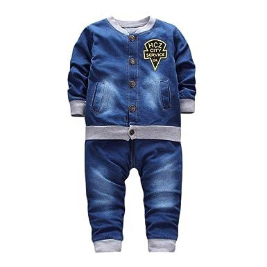 218c13b64d8f76 Hirolan Jungen Kinderkleidung Cowboy Anzug 2Stk Set Outfit Kleidung ...