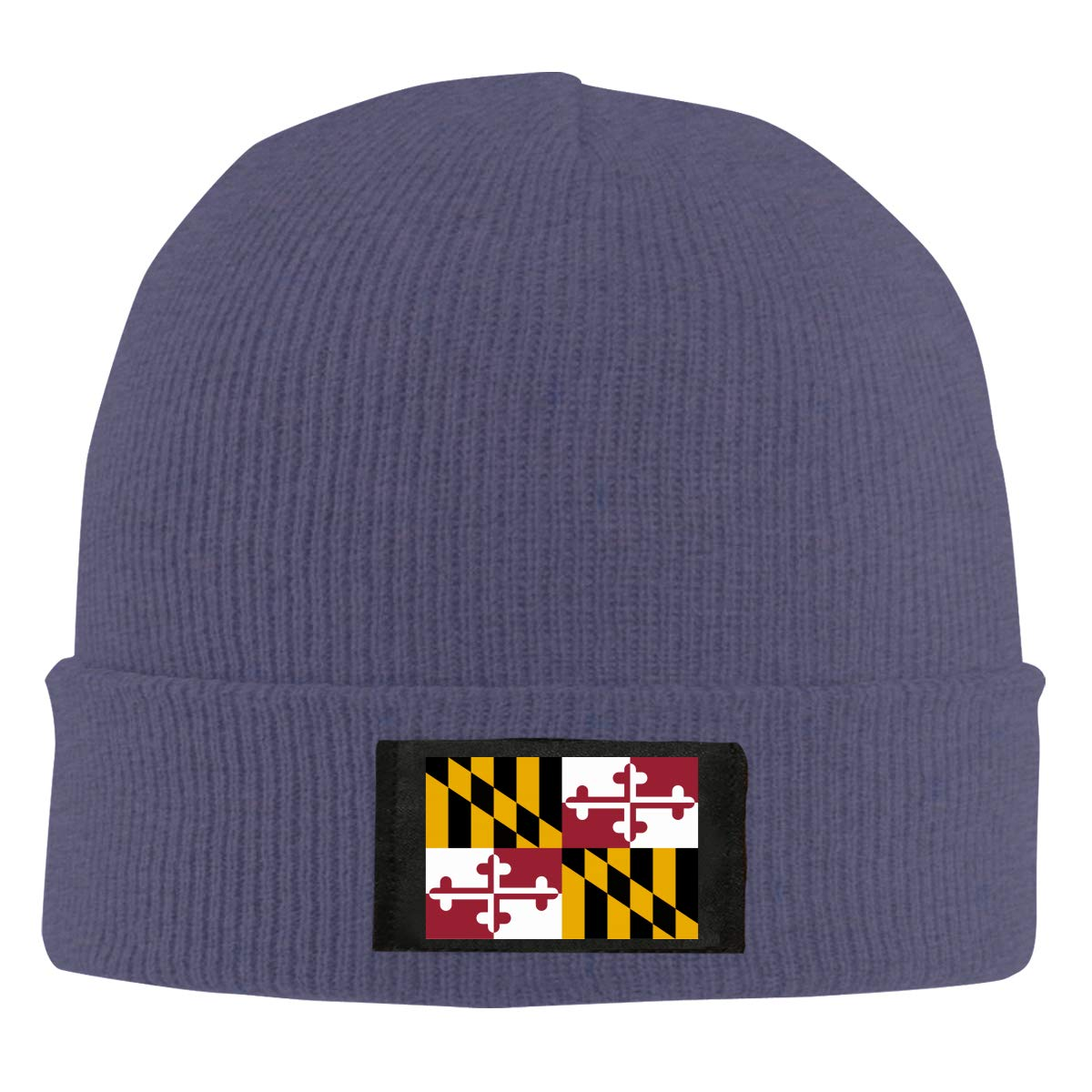 BF5Y6z/&MA Mens and Womens Flag of Maryland Knitting Hat 100/% Acrylic Fashion Beanies Cap