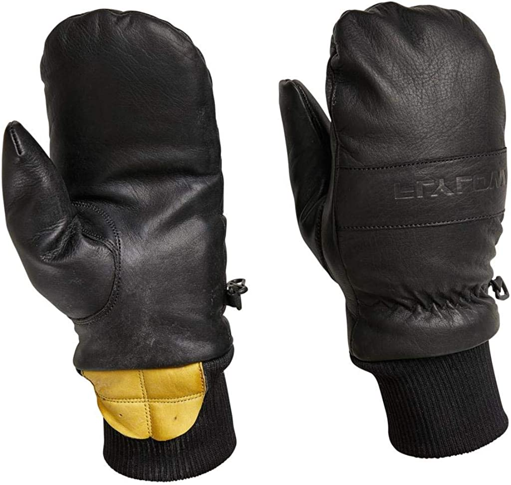 Flylow Leather Ski and Snowboarding Oven Mittens