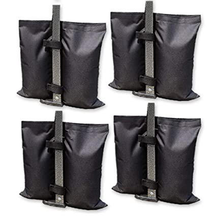 e0ab15b4a01a JOZZ 4 Pack Sand Bags for Tent, Weight Bags for Pop Up Canopy ez Up Tents,  Sandbag for Instant Sun Shelter Anchor Kit Gazebo, Weights Bag Hold ...