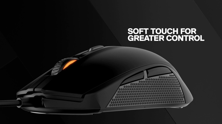 SteelSeries Rival 100, Optical Gaming Mouse - Alchemy Gold