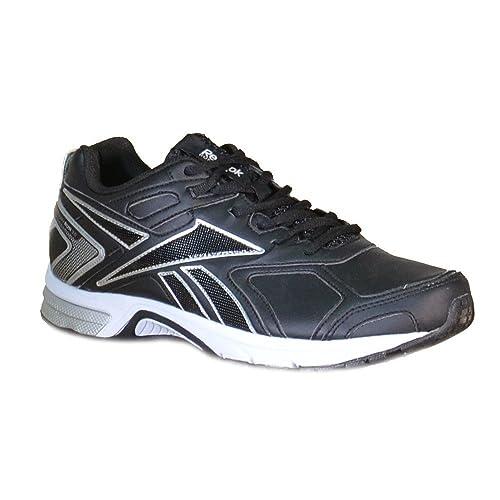 Reebok Pheehan Run 3.0 Men's Running Shoes Black Leather V67505:  Amazon.co.uk: Shoes & Bags