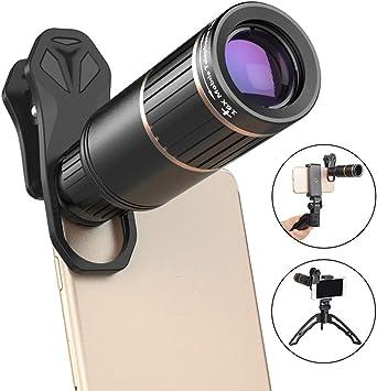 SHIZHESHOP Kit de Lente de cámara para Smartphone, telescopio de ...
