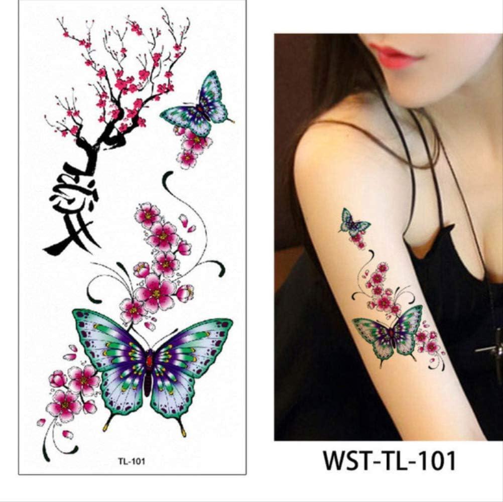 yyyDL Etiqueta engomada del tatuaje temporal para mujeres hombres ...