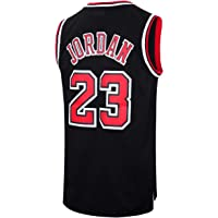 5cb82346a RAAVIN Legend Mens  23 Basketball Jersey Retro Athletics Jersey Red White  Black Strip S