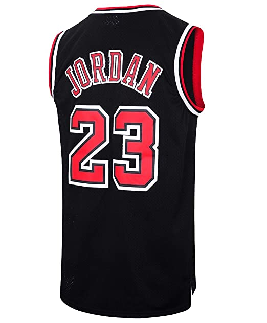 sports shoes cde6b b3585 RAAVIN Legend Mens #23 Basketball Jersey Retro Athletics Jersey Red White  Black/Strip S-XXXL
