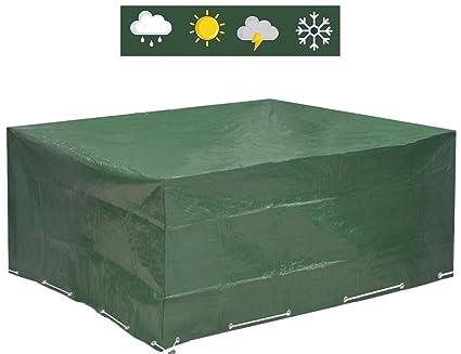 Hervorragend Amazon.de: Abdeckung für Gartenmöbel 250x210x90 - wasserdicht und EP97