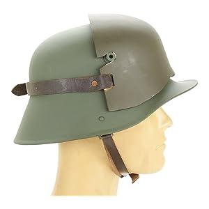 German WWI M16 Helmet Stirnpanzer