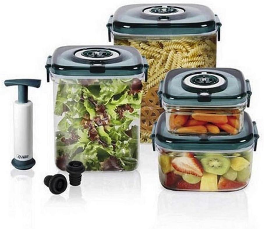 NuWave Flavor-Lockers Food Storage System Vacuum Containers