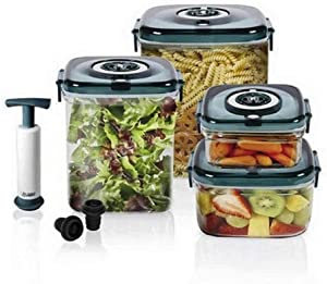 NuWave Flavor-Lockers Food Storage System Vacuum Containers
