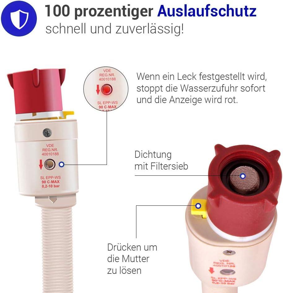Aquastopp-tuyau 3m pour Bosch Lave distributeurs automatiques
