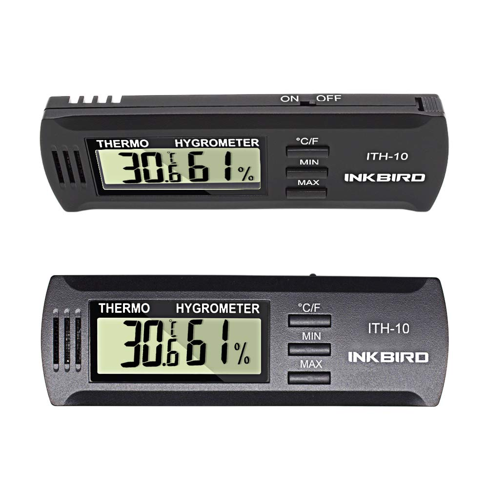 Inkbird Dc 3V Input Digital Thermometer & Humidity Meter Hygrometer ITH-10 by Inkbird (Image #9)