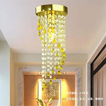 Amazon.com: Modern Lamps for Living Room Crystal Led Ceiling ...
