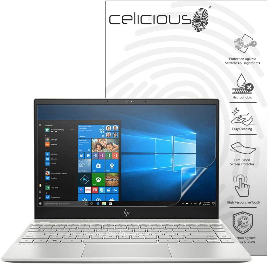 Celicious Impact Anti-Shock Shatterproof Screen Protector Film Compatible with HP Envy x360 15 BP006NA