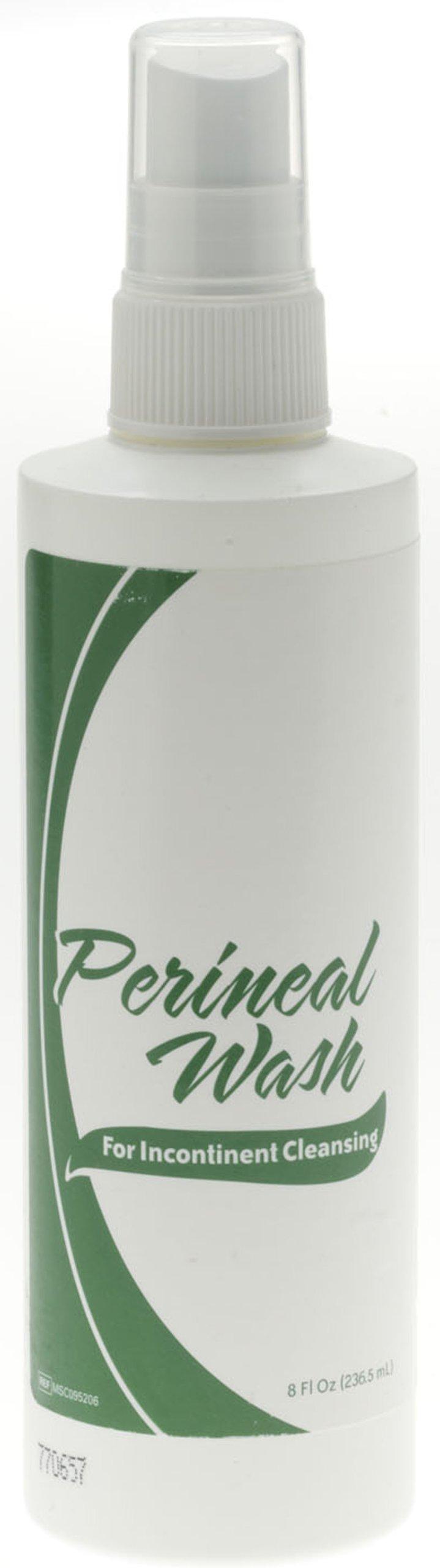 Medline MSC095206 No-Rinse Perineal Wash, 8 oz (Pack of 36)